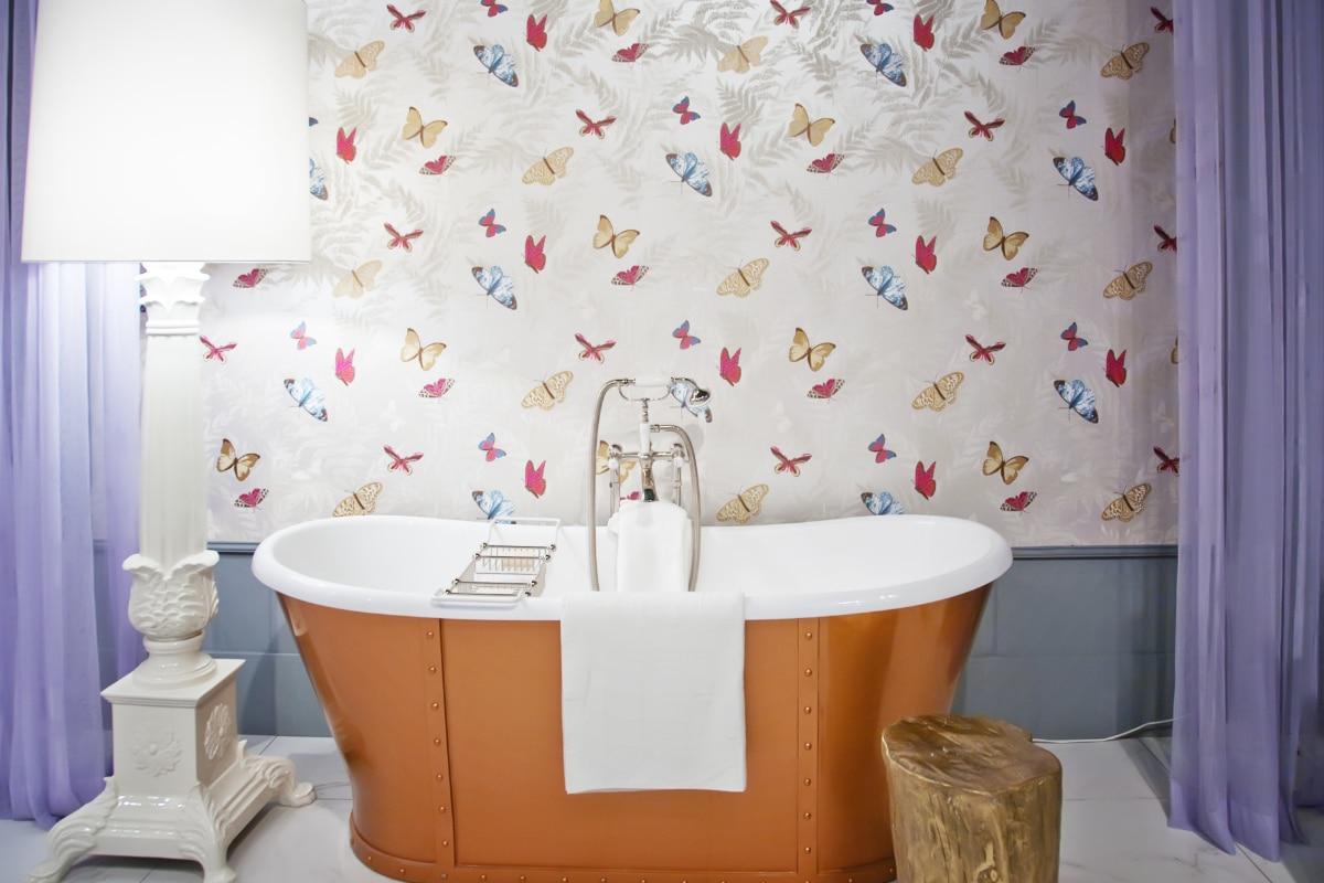 design badkamer met kleur