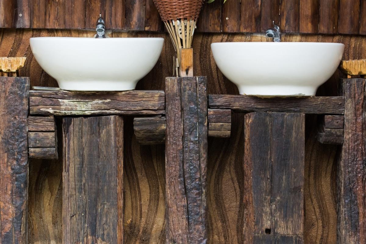 originele design badkamer