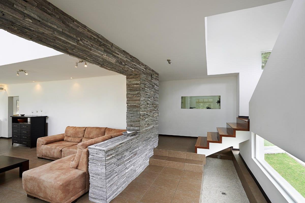 steenstrips interieur